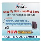 Sanding Belts for Wood,  Metal,  Floor,  Glass and Corian Sanding
