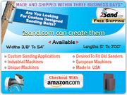 Save Big On Custom Sanding Belts Online