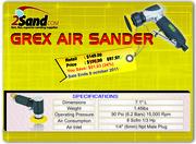 Big Discount on Grex Air Sander Tools