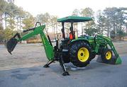 $3, 400 US = 2OO4 John Deere 4710 TLB 4WD All Attachments Free Delivery