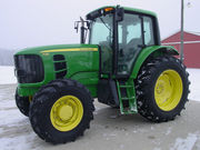 Like New 2OO9 John Deere 7130 MFWD 4WD CAB 121HP = $13, 700 US =