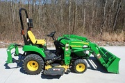 2009 John Deere 2305 4WD Loader,  Mower,  iMatch