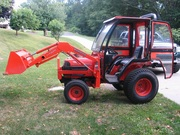 2005 Kubota B7610 4WD Loader Cab Heat 24hp