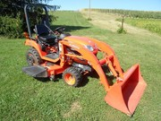 2011 Kubota BX2360 4x4 w/ Loader and Belly Mower
