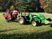 2004 John Deere 4320 4WD w/ Implements