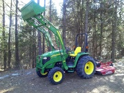 2005 John Deere 4520 4x4 Loader Bush Hog